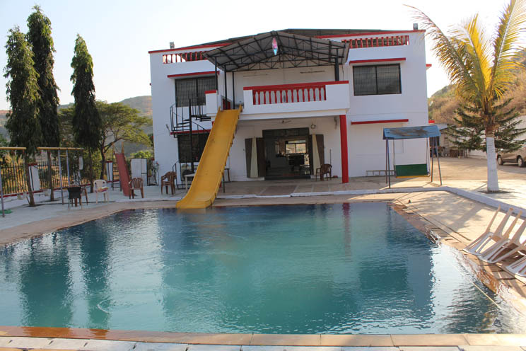 Farmhouse In Karjat With Swimming Pool Sks Farms