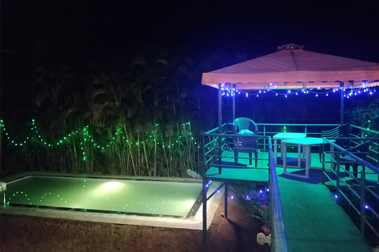 private bungalow swimming pool in Igatpuri